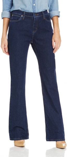 1db2b5d0 Wrangler Women's As Real As Classic Fit Bot Cut Red Casted Blue ...