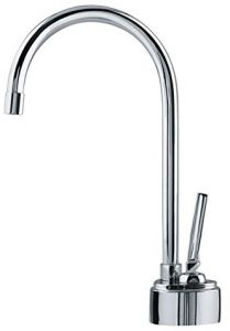 Whitehaus Collection WHFH-C1006-C Forever Hot Point of Use Cold Water Faucet with Traditional Spout Polished Chrome