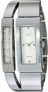 Wrist Armor Women's Quartz Metal and Alloy Casual Watch, Color:Silver-Toned (Model: 37VW202001A)