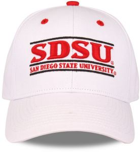 check out dc5db 10a3b The Game NCAA San Diego State Aztecs Unisex NCAA bar Design Hat, White,  Adjustable