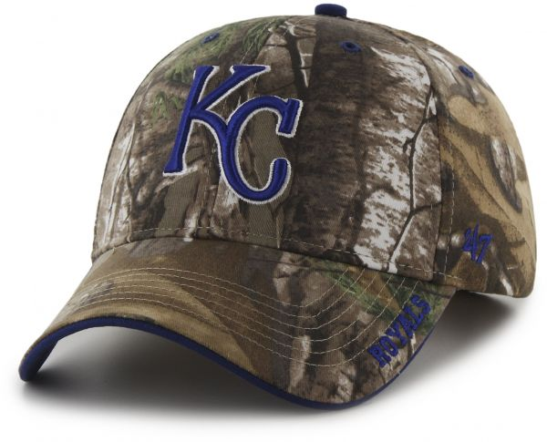 more photos e8b36 70ae4 MLB Kansas City Royals  47 Frost MVP Camo Adjustable Hat, One Size Fits  Most, Realtree Camouflage   KSA   Souq