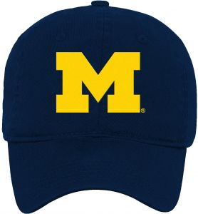 54c619c4c52 Outerstuff NCAA Michigan Wolverines Kids   Youth Boys Team Slouch  Adjustable Hat