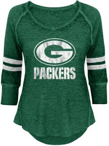 9d883d789 NFL by Outerstuff NFL Junior Girls Relaxed 3 4 Thermal Top