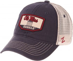 c5edfabd22269 Zephyr NCAA Mississippi Old Miss Rebels Men s Trademark Relaxed Cap