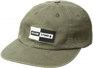 60cc7d0e678302 Volcom Men's Same Difference Eight Panel Adjustable Hat, Military, O/S
