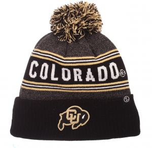 Zephyr NCAA Colorado Buffaloes Men s End Zone Knit Beanie fba80ea3cd54