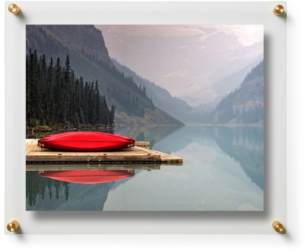 Wexel Art 15x18 Inch Double Panel Clear Acrylic Floating Frame With