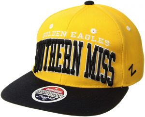 29a17361331 Zephyr NCAA Southern Mississippi Golden Eagles Super Star Snapback Cap