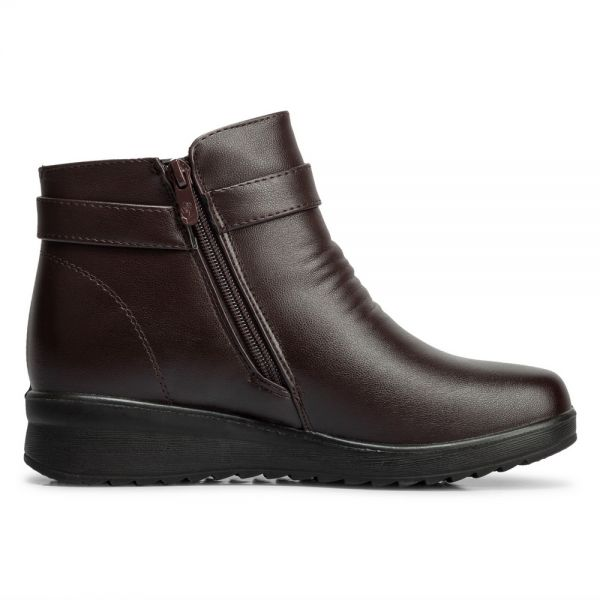 b6c3175d9 JB Pull-On Boots For Women - Brown