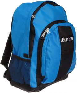 82d49a9f2329 Everest Luggage Backpack with Front and Side Pockets