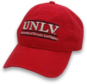 f75a5981b31 The Game NCAA UNLV Rebels Adult Classic Adjustable Hat