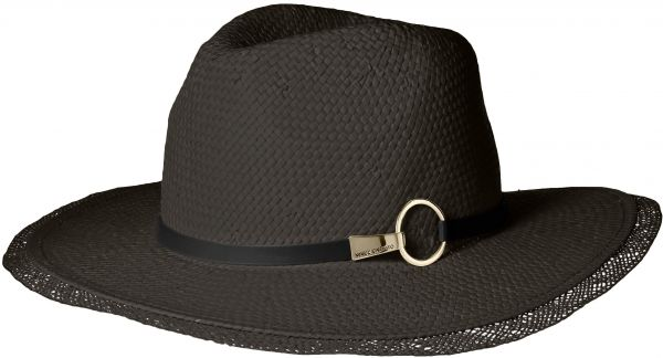 Vince Camuto Women s Clip and Ring Panama Hat 2ae90633359