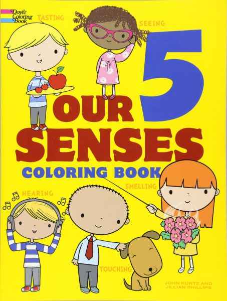Our 5 Senses Coloring Book (Dover Coloring Books for Children ...