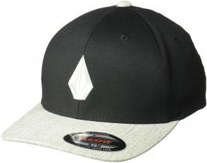 d732a79c092 Volcom Men s Full Stone Heather Flexfit Stretch Twill Hat