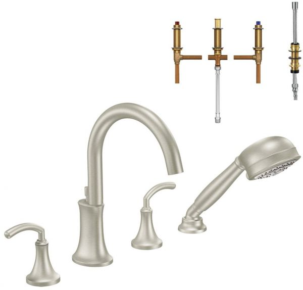 Moen Krtic Dh Ts964bn Icon 8 916 Inch Roman Tub Faucet With Hand