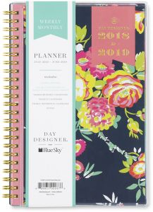 buy books monthly monthly budget planner blue sky at a glance