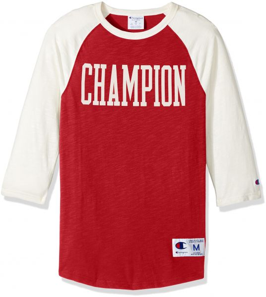 e903490f1 Champion Men s Heritage Baseball Slub Tee