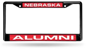 6 x 12.25 Rico Industries NHL Columbus Blue Jackets Laser Cut Inlaid Standard License Plate Frame Chrome