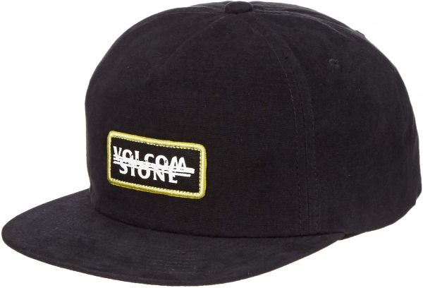 differently 38c31 3abc9 ... cheapest volcom mens scribble stone five panel hat black one size fits  all 3e21b deb9b ...