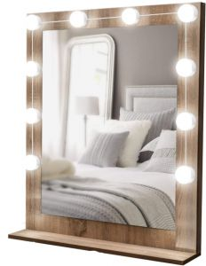 Lighted Mirror Led Light For Cosmetic Makeup Vanity Mirror Kit Hollywood Style Dimmable Led Vanity Lights For Makeup Vanity Table