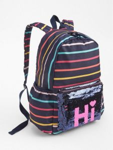 3f413a2fbdf9 GAP Flippy Sequin Stripe Backpack - Multi Color