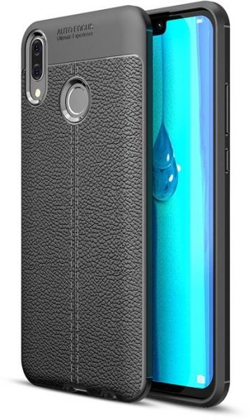 Auto Focus TPU Cover For Huawei Y9 2019 - Black