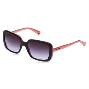 8a5249a7dbe Emporio Armani Square Sunglasses for Women - Purple Lens