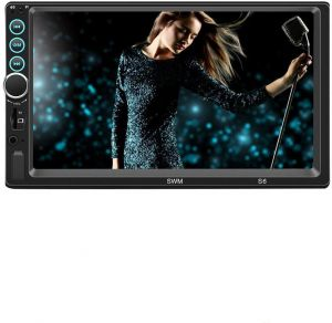 7 Inch Double 2 DIN Car MP5 MP3 Player Bluetooth Touch Screen Stereo Radio  Camera Player 3d66823665