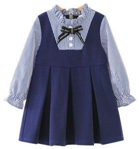fdadc135c0 High quality girl fresh dress for 3-5 years old summer autumn