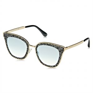 bfcf648ed9bc Jimmy Choo Butterfly Sunglasses for Women - Grey