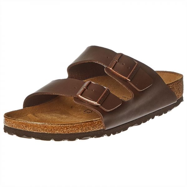 e4d49390d368 Birkenstock Arizona Dark Brown BF Sandal For Men
