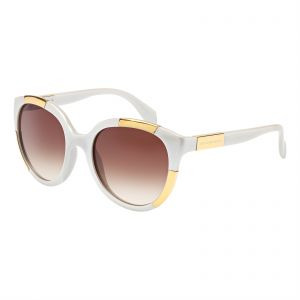 8032a84e6e480 Alexander McQueen Cat Eye Sunglasses for Women - Brown Gradient Lens