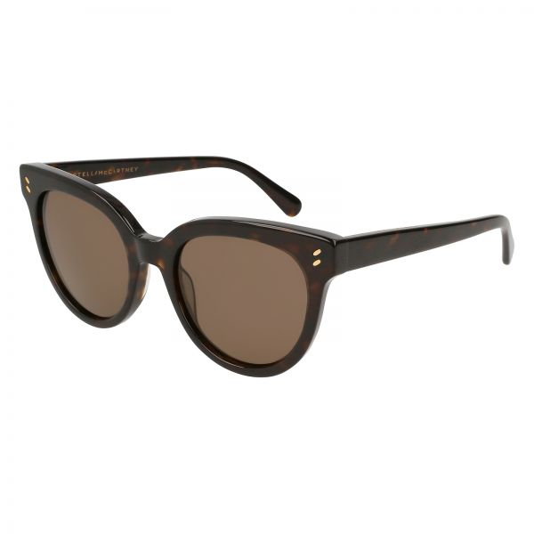 5690b5b72b9 Stella McCartney Cat Eye Sunglasses for Women - Brown Lens