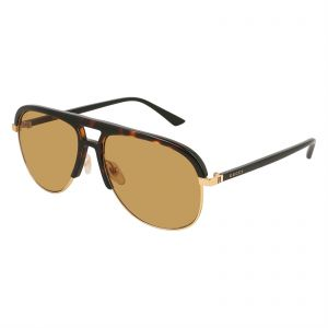 fe047f57dbd Gucci Aviator Sunglasses for Women - Brown Lens