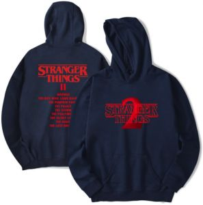 ae4cc3880c1 American TV Series Stranger Things 2 Hoodies Soft Comfortable Cotton Round  Neck Pullover Swatshirt Tops Hoodie for Men Woman