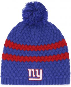 cd21aa74dbd NFL New York Giants Women s Winona OTS Beanie Knit Cap with Pom