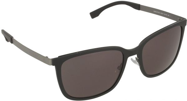 5be6f720c5 Hugo Boss Wayfarer Sunglasses for Men - Grey Lens