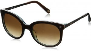28f25b8b4cad Fossil Square Sunglasses for Women - Brown Lens