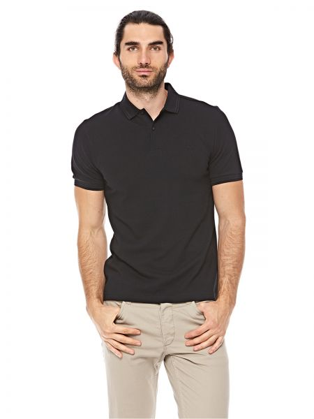 d2aa386be20 Fred Perry Twin Tipped Polo For Men - Black