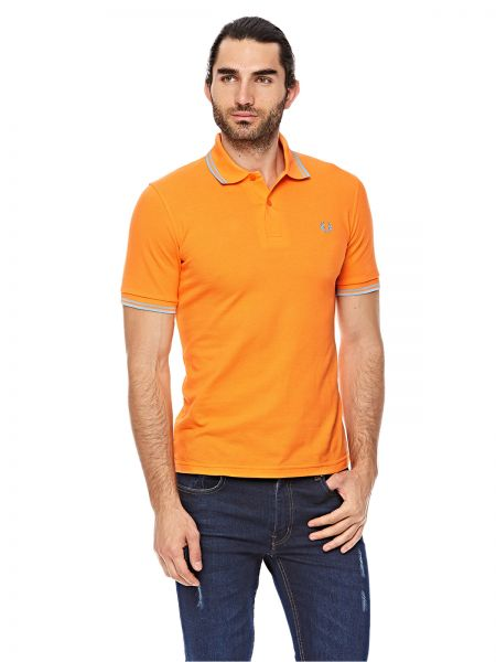 69215e0b9 Fred Perry Twin Tipped Polo For Men - Orange