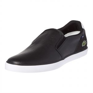 ca795f78db1f LACOSTE Black Slip On For Men