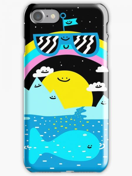 Rainbow Space World Phone Case for Apple Iphone 7