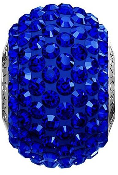 Swarovski Pave Bead Majestic Blue Color Stainless Steel Becharmed 14 Mm 9 30 Souq Uae