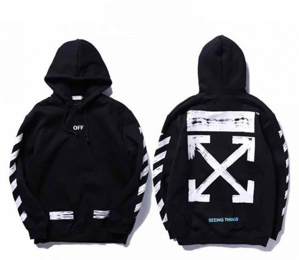off-white classic arrow hoodie ins hot unisex hooded sweatshirt for