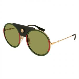46ef2458b97 Gucci Round Sunglasses for Women - Green Lens