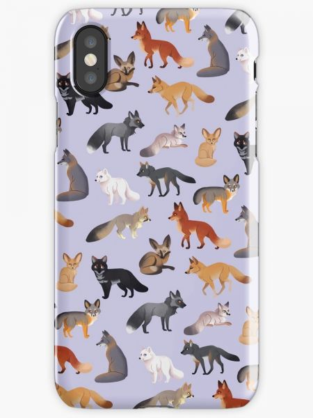 Fox Breeds Phone Case for iPhone X | Souq - Egypt