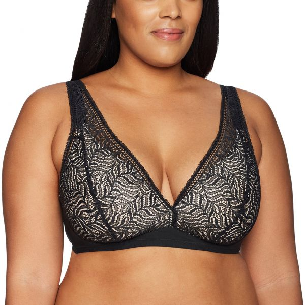 4763209eaad Paramour Women s Carolina Stretch Lace Wire Free Bra