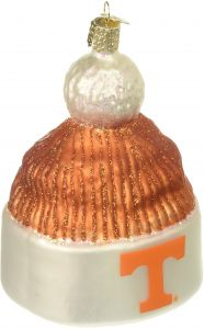 Old World Christmas University of Tennessee Beanie Glass Blown Ornament a6215260d