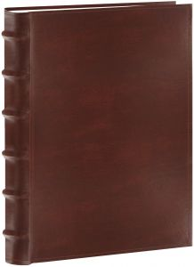 Pioneer Photo Albums Clb 257 Bn 200 Pocket European Bonded Leather Photo Album For 5 By 7 Inch Prints Brown