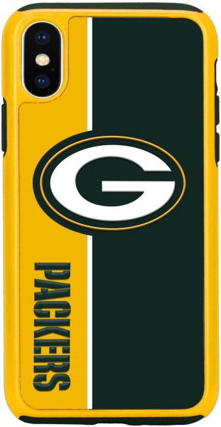 Forever Collectibles iPhone X Dual Hybrid Bold Case - NFL Green Bay Packers